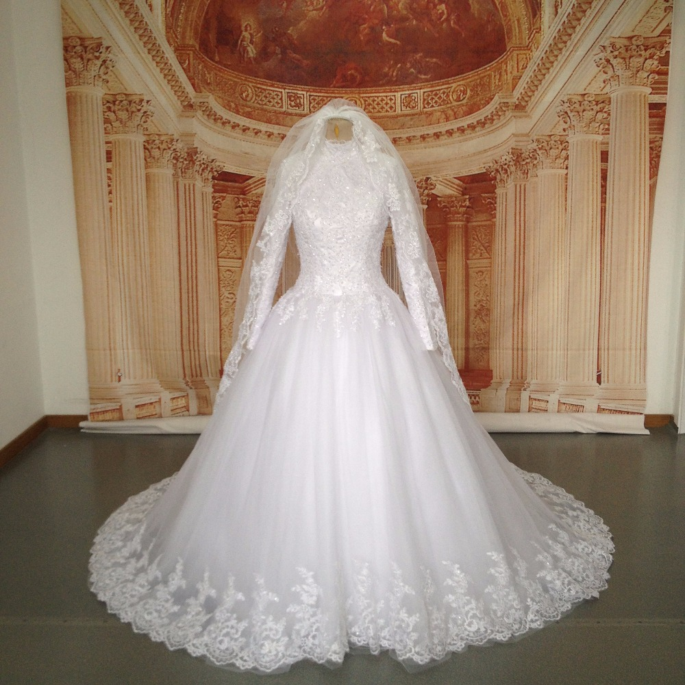 فستان-عروس-محجبة