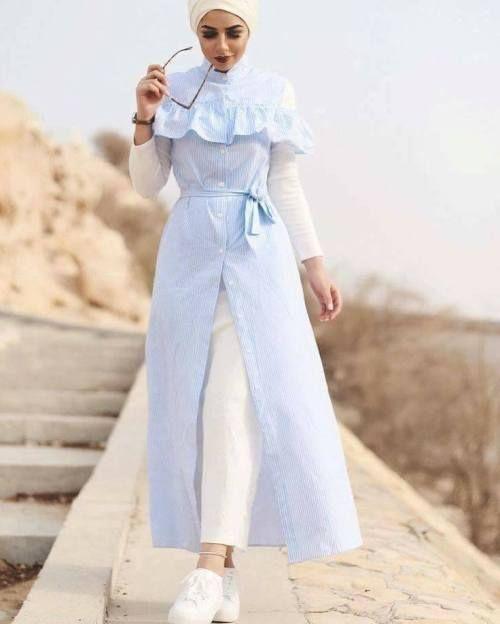 bb056186c نصائح لاختيار ملابس العروس المحجبة في شهر العسل - مشاهير