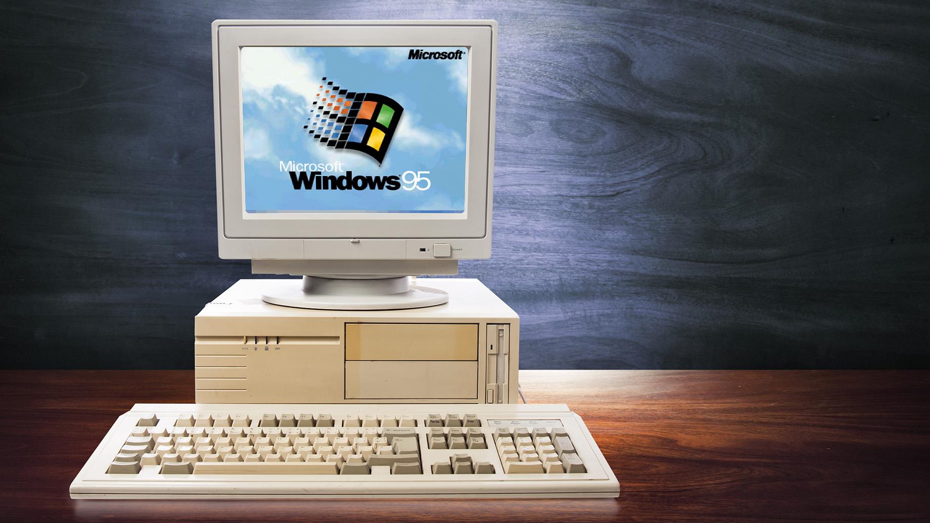 تاريخ طرح ويندوز 95 في الاسواق