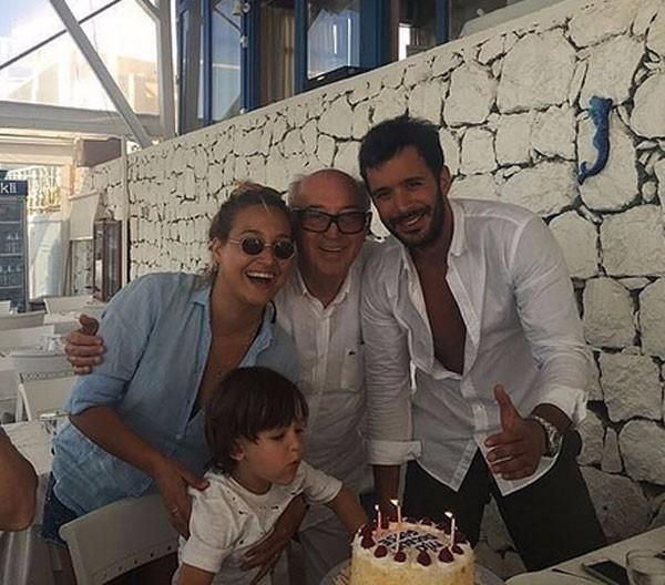بالصور باريش أردوتش يحتفل بعيد ميلاد حبيبته جوبسا أوزاي