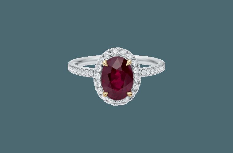 Oval-shaped Ruby-3