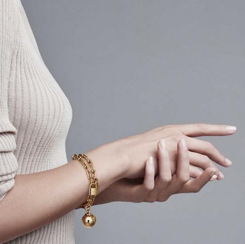 Tiffany HardWear 18k Gold Wrap Bracelet _ Tiffany & Co.