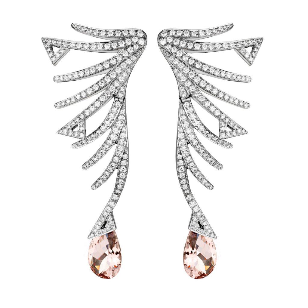 akillis-paris-high-jewellery-cruella-earrings-white-gold-white-diamonds-morganite