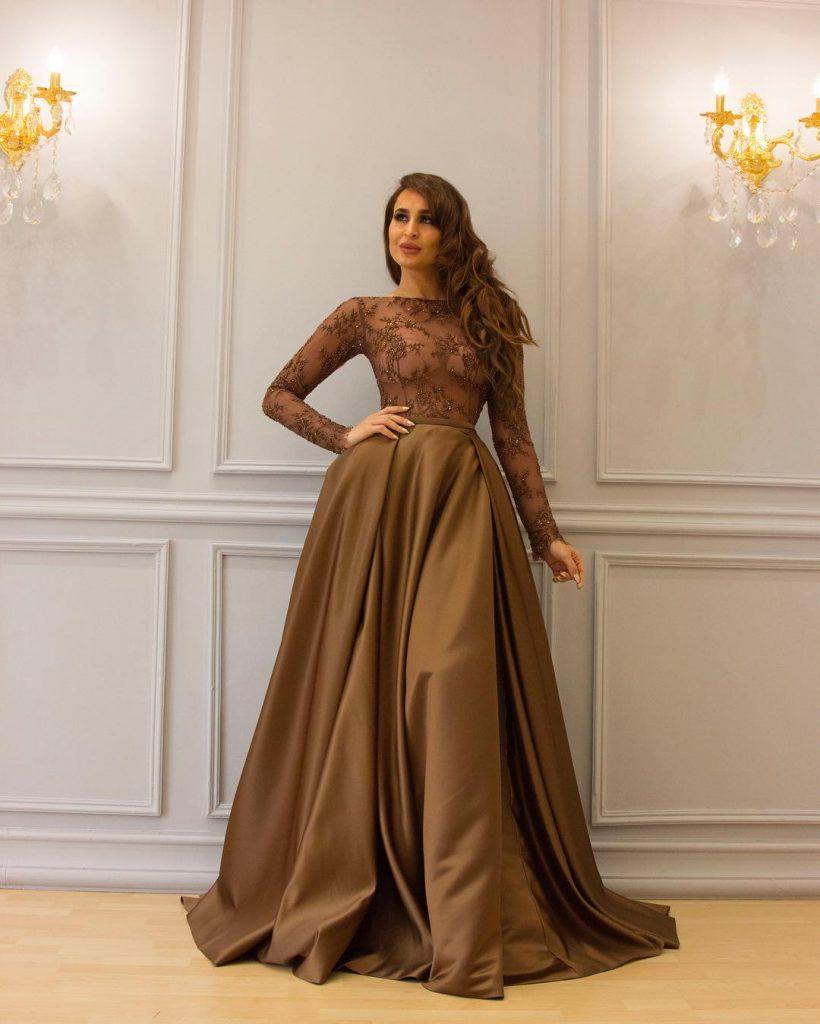 a15a8f2cb159e اجمل مجموعة فساتين سهرة من تصميم الكويتية سارة العبدالله - مشاهير