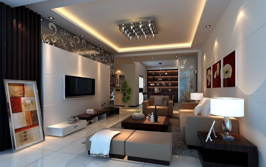 best layout for living room صور اجمل ديكورات ريسبشن مودرن 2018 مشاهير 19955