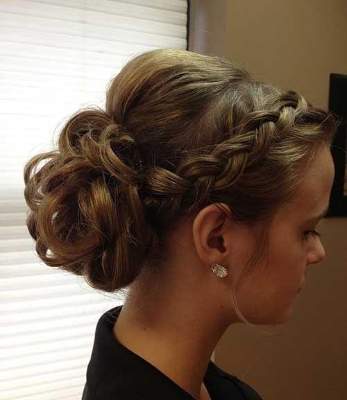 تسريحة-شعر-رسمية