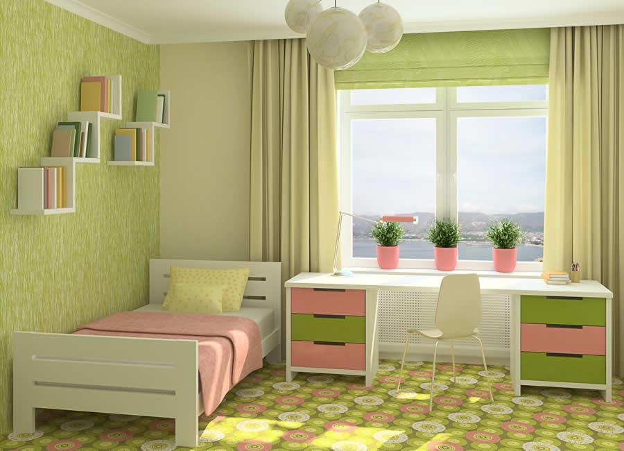 غرفة-خضراء