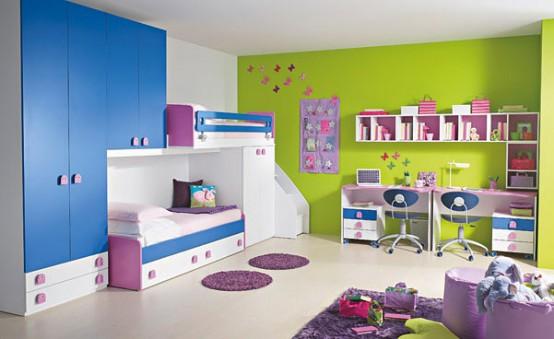 غرف-اطفال-بالوان-زاهية