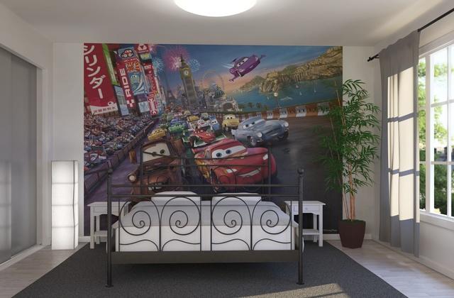 غرف-اطفال-بديكورات-ورق-الحائط-ثلاثي-الابعاد- (15)