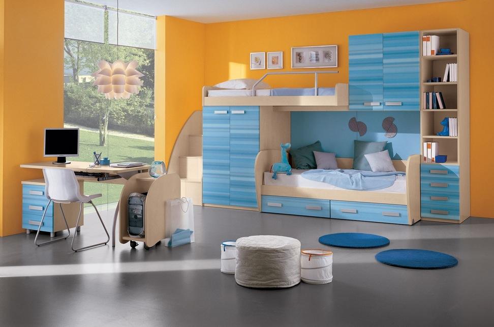 غرف-اطفال-بسيطة
