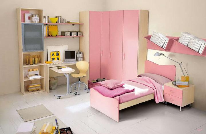 غرف-اطفال-وردي