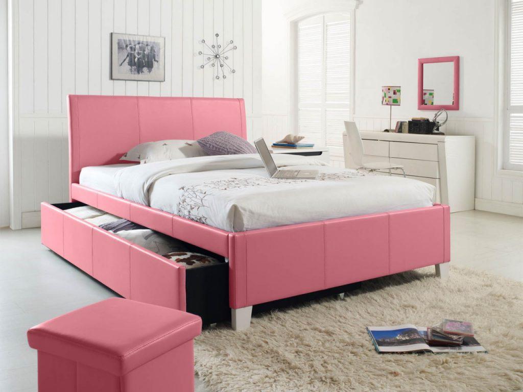 غرف-نوم-اطفال-باللون-الوردي- (1)