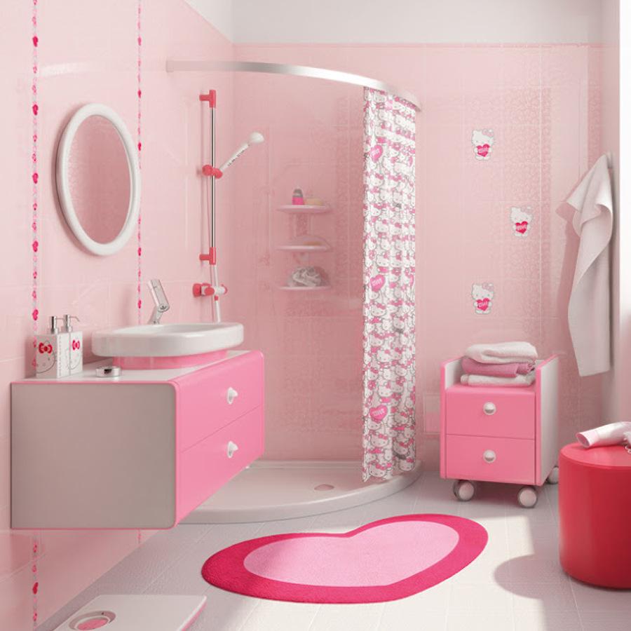 غرف-نوم-اطفال-باللون-الوردي- (10)