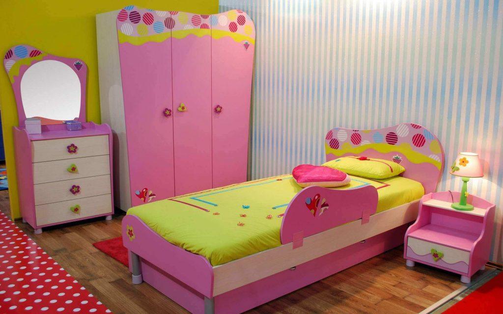 غرف-نوم-اطفال-باللون-الوردي- (15)