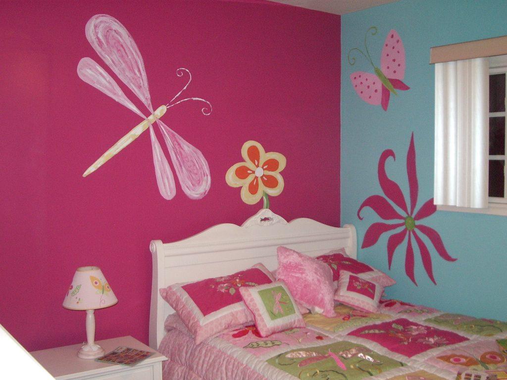 غرف-نوم-اطفال-باللون-الوردي- (22)