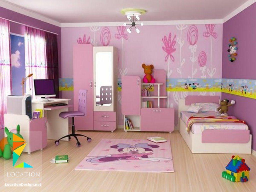 غرف-نوم-اطفال-باللون-الوردي- (3)