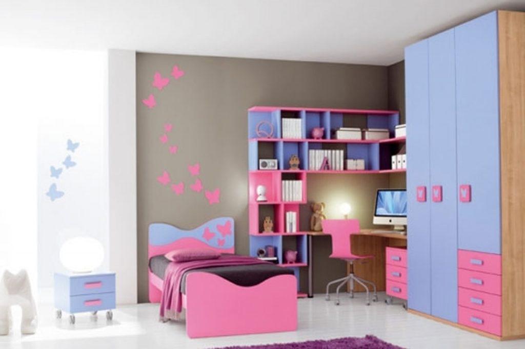غرف-نوم-اطفال-باللون-الوردي- (6)