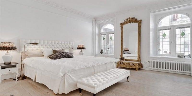 غرف-نوم-كلاسيك-لون-ابيض- (10)