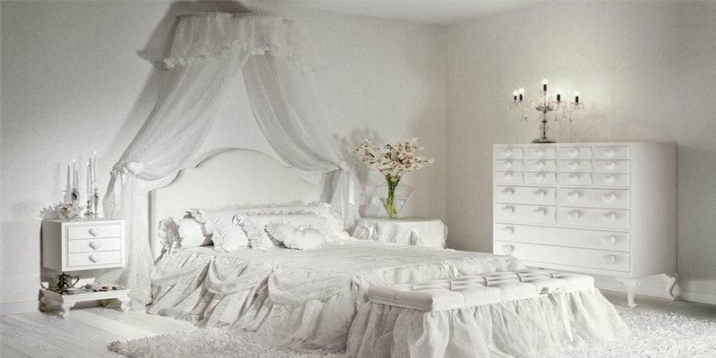 غرف-نوم-كلاسيك-لون-ابيض- (11)
