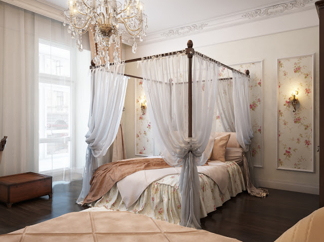 غرف-نوم-كلاسيك-لون-ابيض- (15)