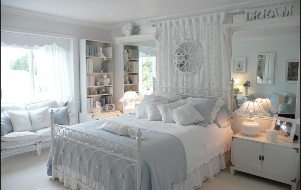 غرف-نوم-كلاسيك-لون-ابيض- (2)