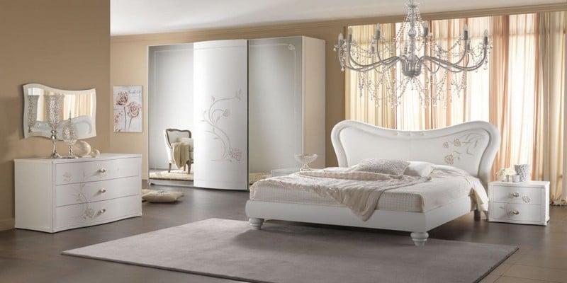 غرف-نوم-كلاسيك-لون-ابيض- (9)