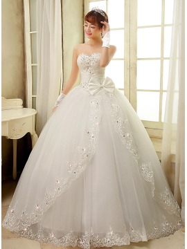 215fc54bb صور فساتين زفاف مطرزه بالكريستال - مشاهير