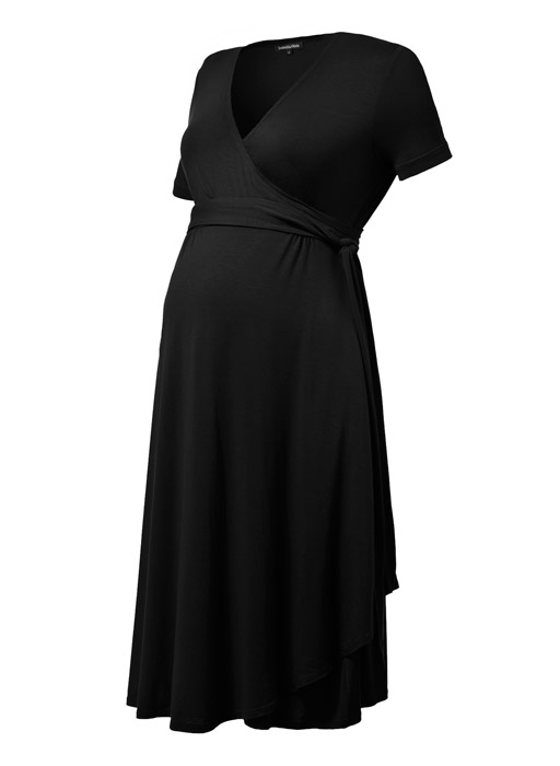 فستان-حوامل-بالحزام