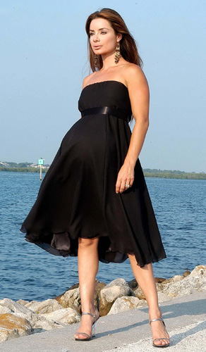 فستان-حوامل-قصير
