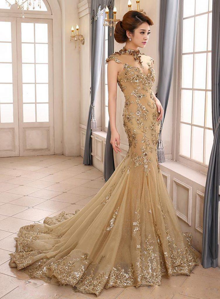 فستان-فخم-للخطوبة