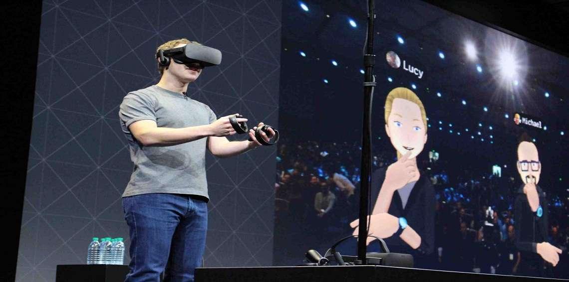 فيس بوك تقدم جهاز جديد للواقع الافتراضي