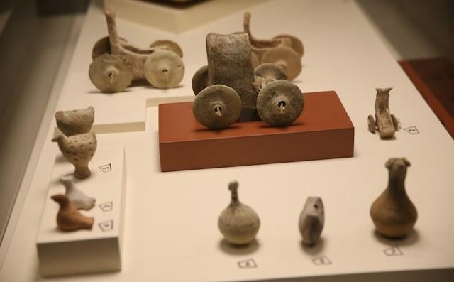 بالصور العثور على لعبة اطفال عمرها 5000 عام في تركيا