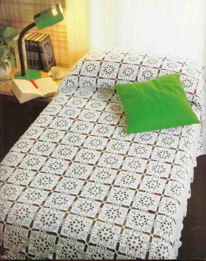 مفارش-السرير-الكروشيه-للعرايس- (2)