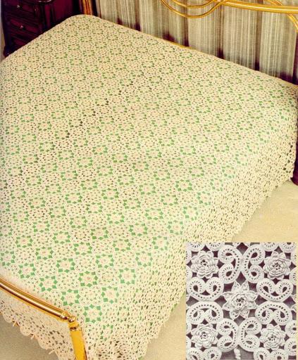 مفارش-السرير-الكروشيه-للعرايس- (20)