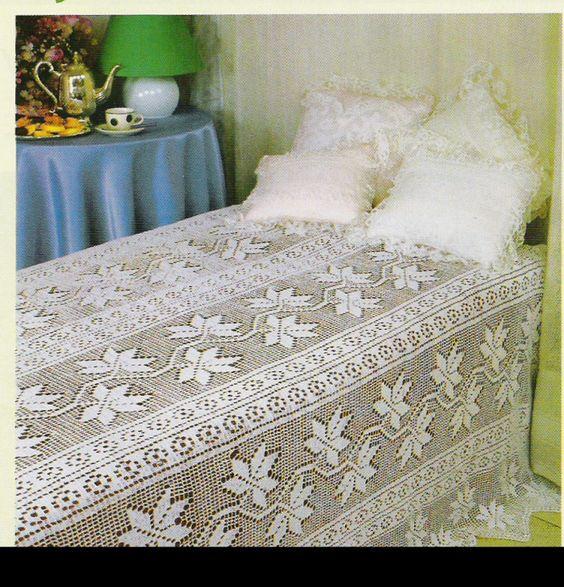 مفارش-السرير-الكروشيه-للعرايس- (5)