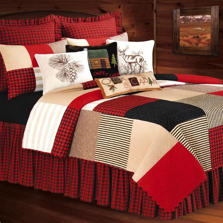 مفارش-سرير-باللون-الاحمر- (1)
