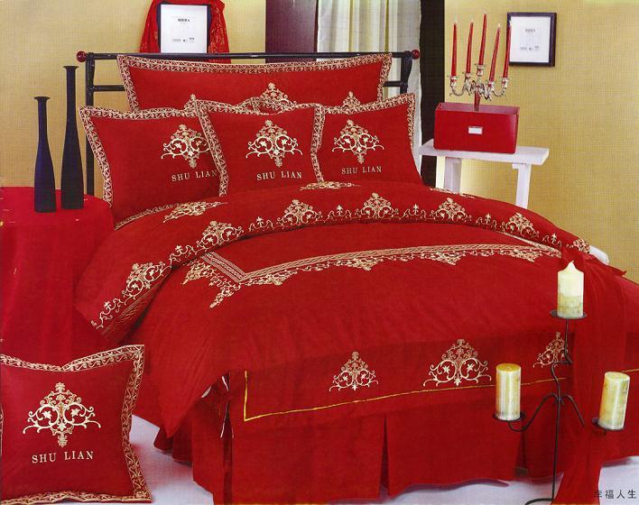 مفارش-سرير-باللون-الاحمر- (2)