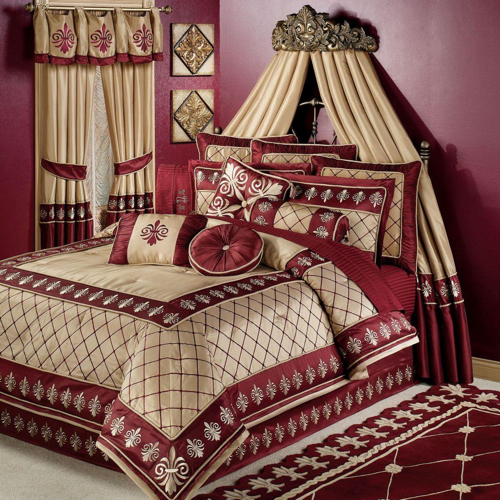 مفارش-سرير-باللون-الاحمر- (26)