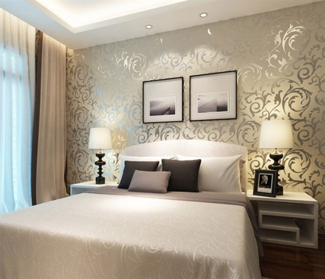 نصائح اختيار ورق جدران لغرف النوم   مشاهير