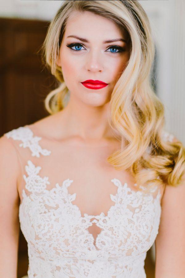 احمر-شفاة-العروس