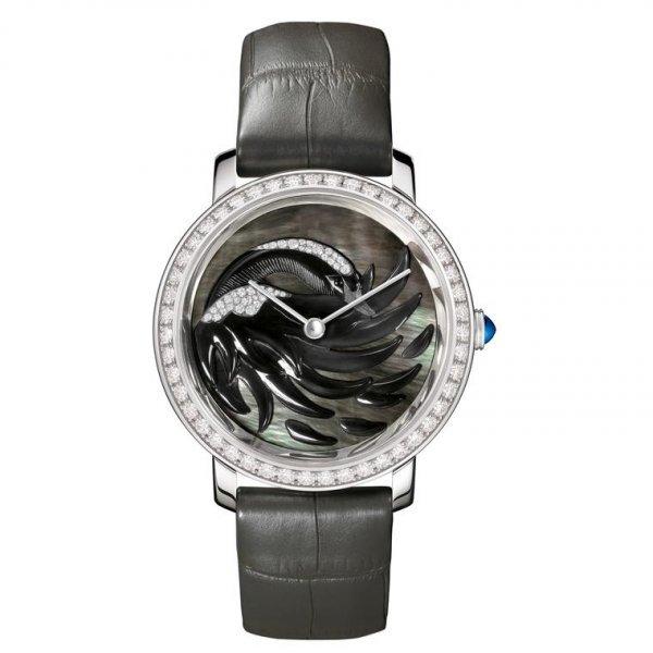 4089546ec ماركة أوميغا تقدم ساعة يد نسائية. بوشرون