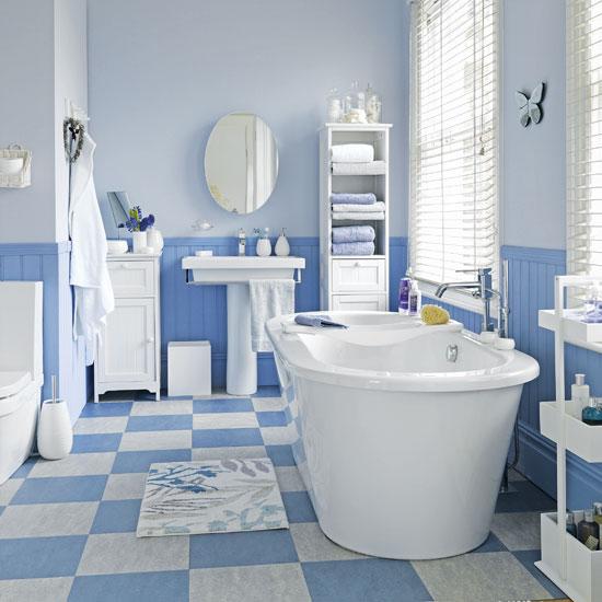 تدرجات-اللون-الازرق-في-الحمام