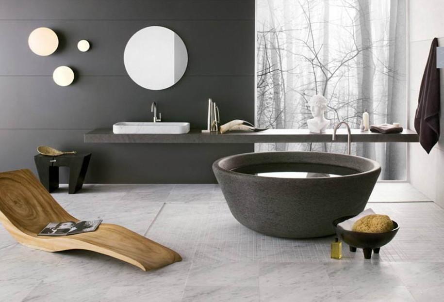 تصميم-الحمام-بالمرايا