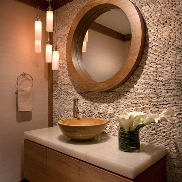 جدار-الحمام-بالاحجار-الصغيرة
