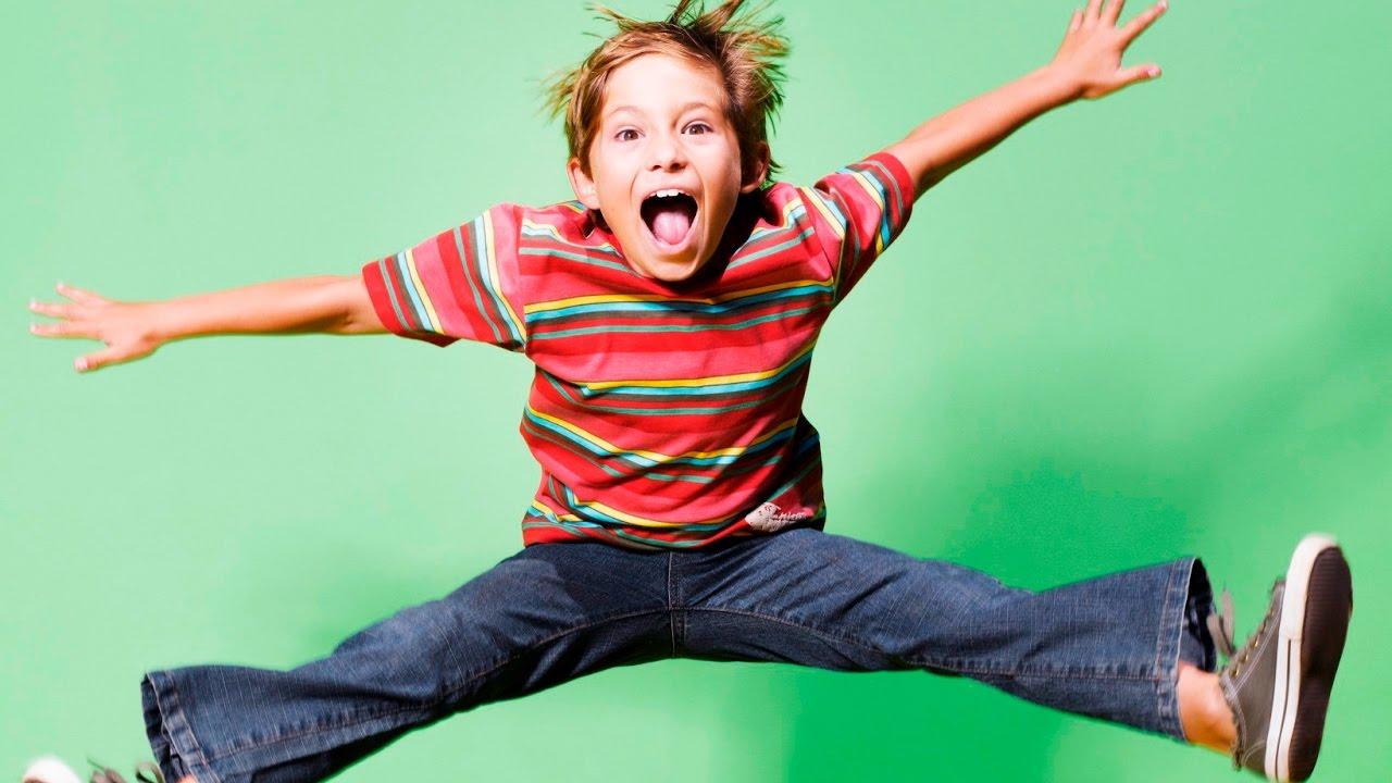 حركات مفرطة للاطفال