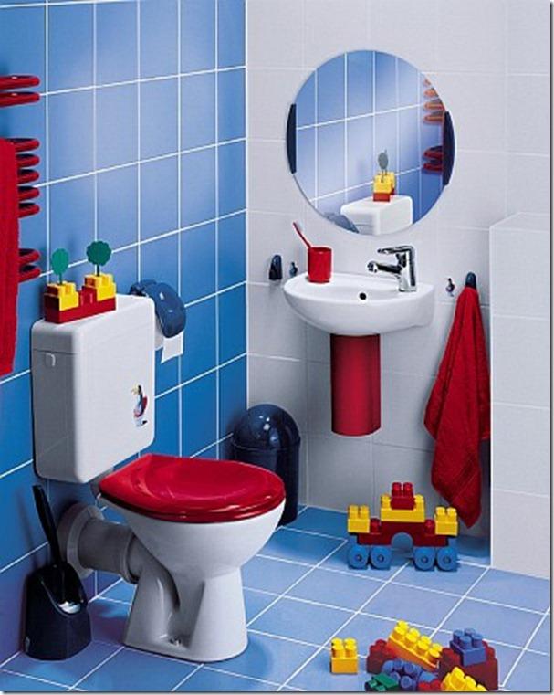 حمام-باللون-الازرق-بالمرايا