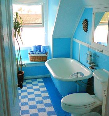 حمام-صغير-باللون-الازرق