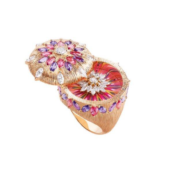 خاتم-الياقوت-الاسبنيل-الماس