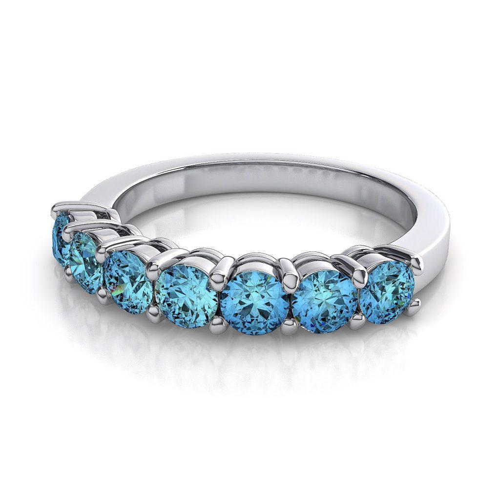 خاتم-مرصع-بالتوباز-الازرق