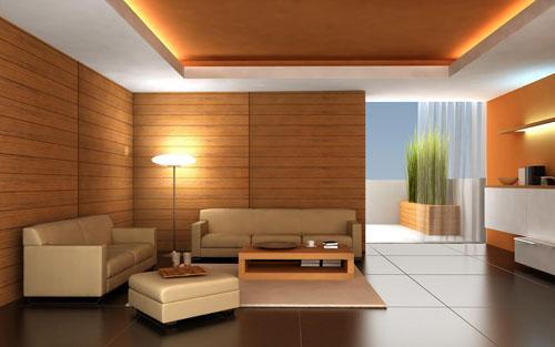 ديكورات-جبسية-بالخشب